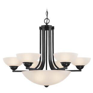 Dolan Designs Fireside 6-Light Shaded Chandelier