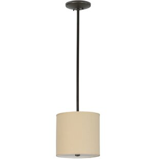 Meyda Tiffany Cilindro Textrene 1-Light Pendant