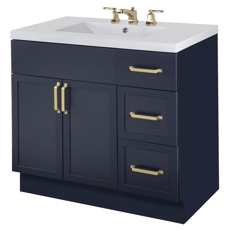 Coastal Farmhouse Lewiston 36 Single Bathroom Vanity Set Wayfair