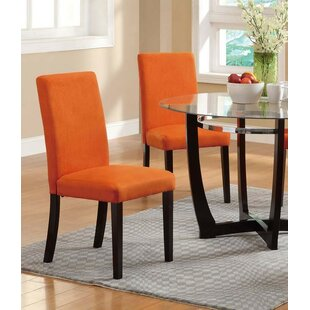 Ebern Designs Zac Upholstered Dining Chair (Set of 2)