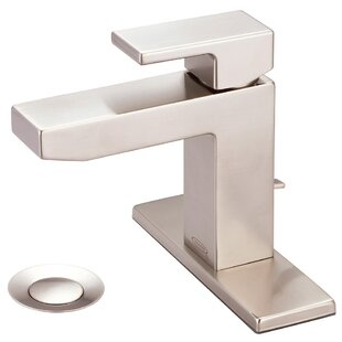 Pioneer Mod Single Hole Bathroom Faucet with Deck Cover Plate