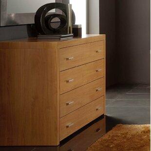 Brayden Studio Kayli 4 Drawer Dresser