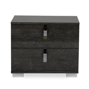 Turin 2 Drawer Nightstand by Ivy Bronx
