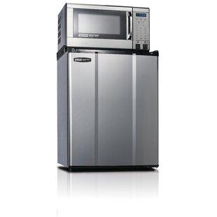 Safe Plug 2.3 cu. ft. Compact Refrigerator with Microwave