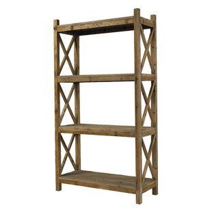 Salvaged Wood Etagere Bookcase by Padmas Plantation