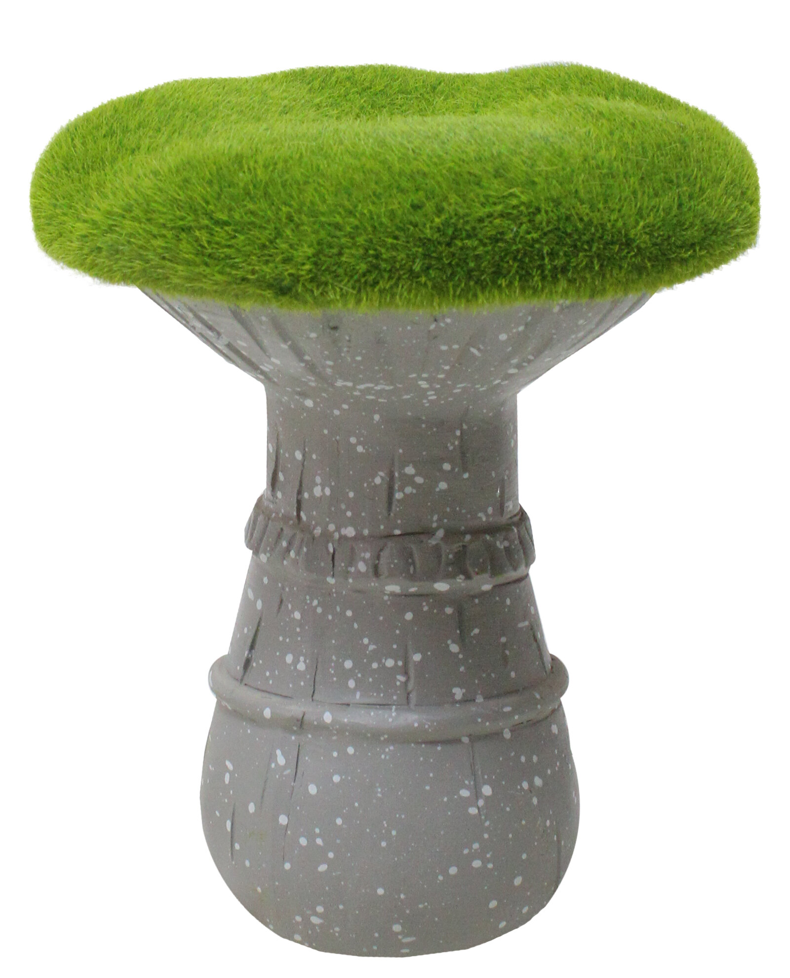 Brilliant Pitcock Artificial Moss Covered Mushroom Outdoor Garden Statue Pabps2019 Chair Design Images Pabps2019Com