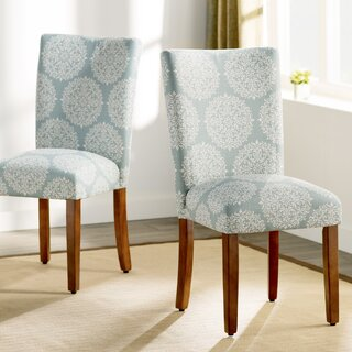 Waverly  Upholstered Dining Chair (Set of 2) by Three Posts SKU:CD526656 Information