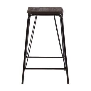 Laughlin 62cm Bar Stool (Set Of 2) By Borough Wharf