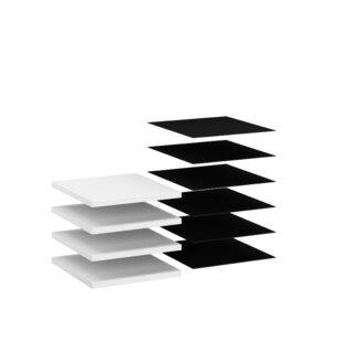 Shuffle 40cm Wide Shelf (Set Of 4) By Rauch