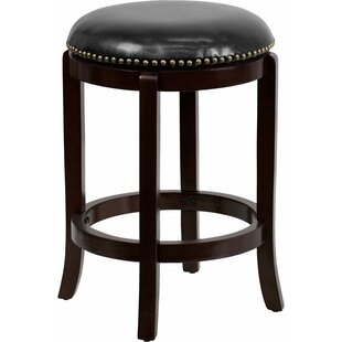 Shop For Jenkin 24'' Swivel Bar Stool by Charlton Home