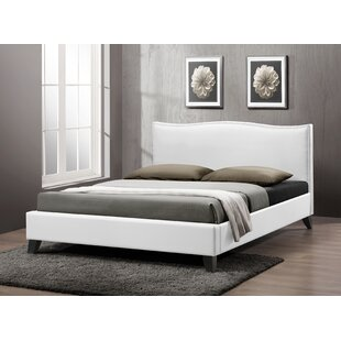Wooler Upholstered Platform Bed by Wrought Studio