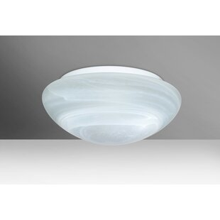 Besa Lighting Bobbi 2-Light LED Outdoor Flush Mount