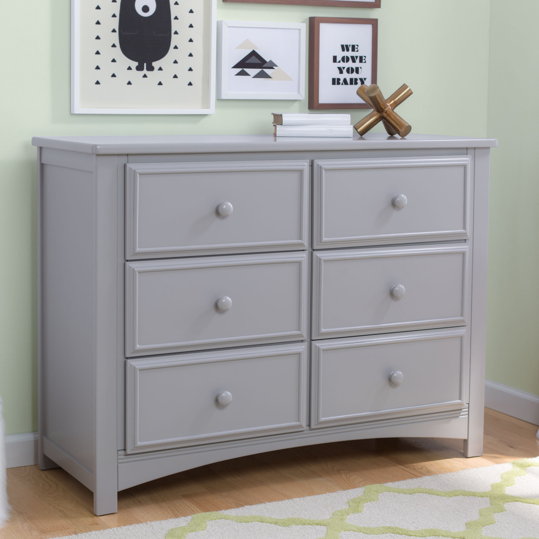 free shipping product garden kerilan today overstock grey gray america dresser home transitional piece furniture set mirror of drawer and