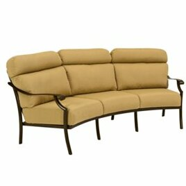 Montreux II Patio Sofa with Cushions by Tropitone