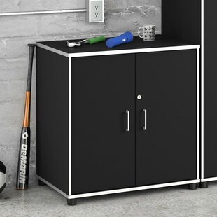 Apollo 30.7 H x 29.7 W x 19.7 D 2-Door Storage Cabinet by Altra Furniture