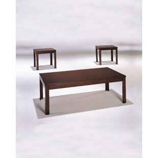 Tryphena 3 Piece Coffee Table Set