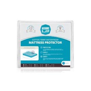 Assure Sleep Terry Hypoallergenic Waterproof Mattress Protector