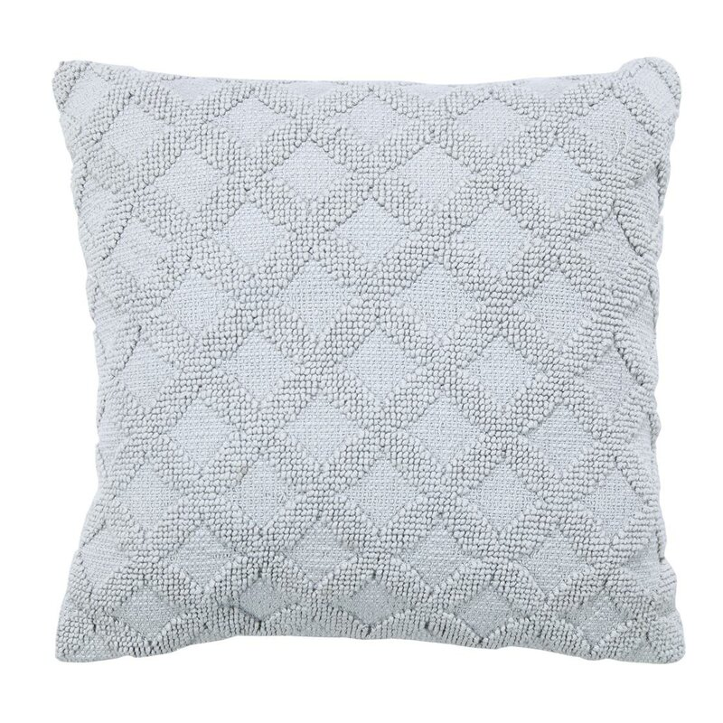 Highland Dunes Georges Braided Diamond Cotton Throw Pillow Reviews Wayfair