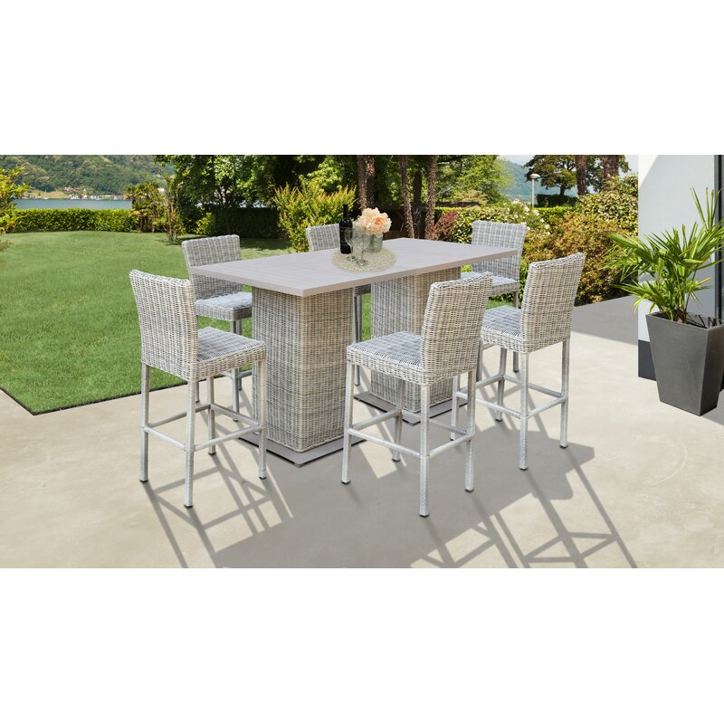 Claire 8 Piece Bar Height Dining Set