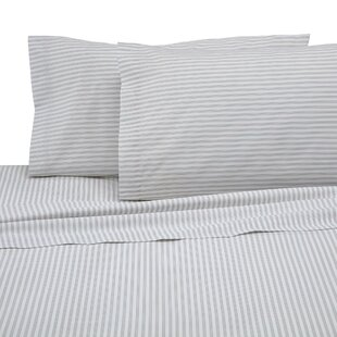 Martex 225-Thread Count Sheet Set in Ticking Stripe