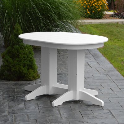 Nettie Plastic/Resin Dining Table by Red Barrel Studio Cheap