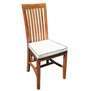West Palm/Balero Teak Patio Dining Chair with Cushion