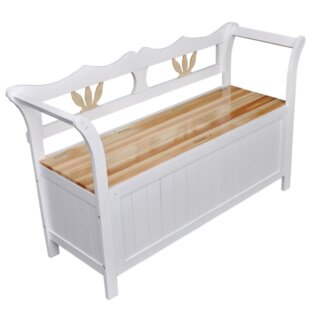 Review Solid Wood Storage Hallway Bench