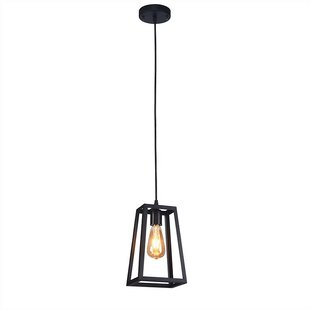 Hexham 1-Light Geometric Pendant by Williston Forge