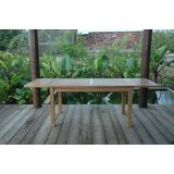 Bahama 95 inch Table with Double Leaf Extensions