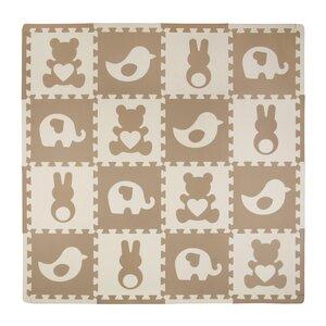 16 Piece Teddy and Friends Playmat Set