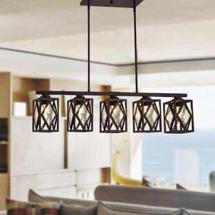 Hedon 5-Light Kitchen Island Chandelier by Wrought Studio