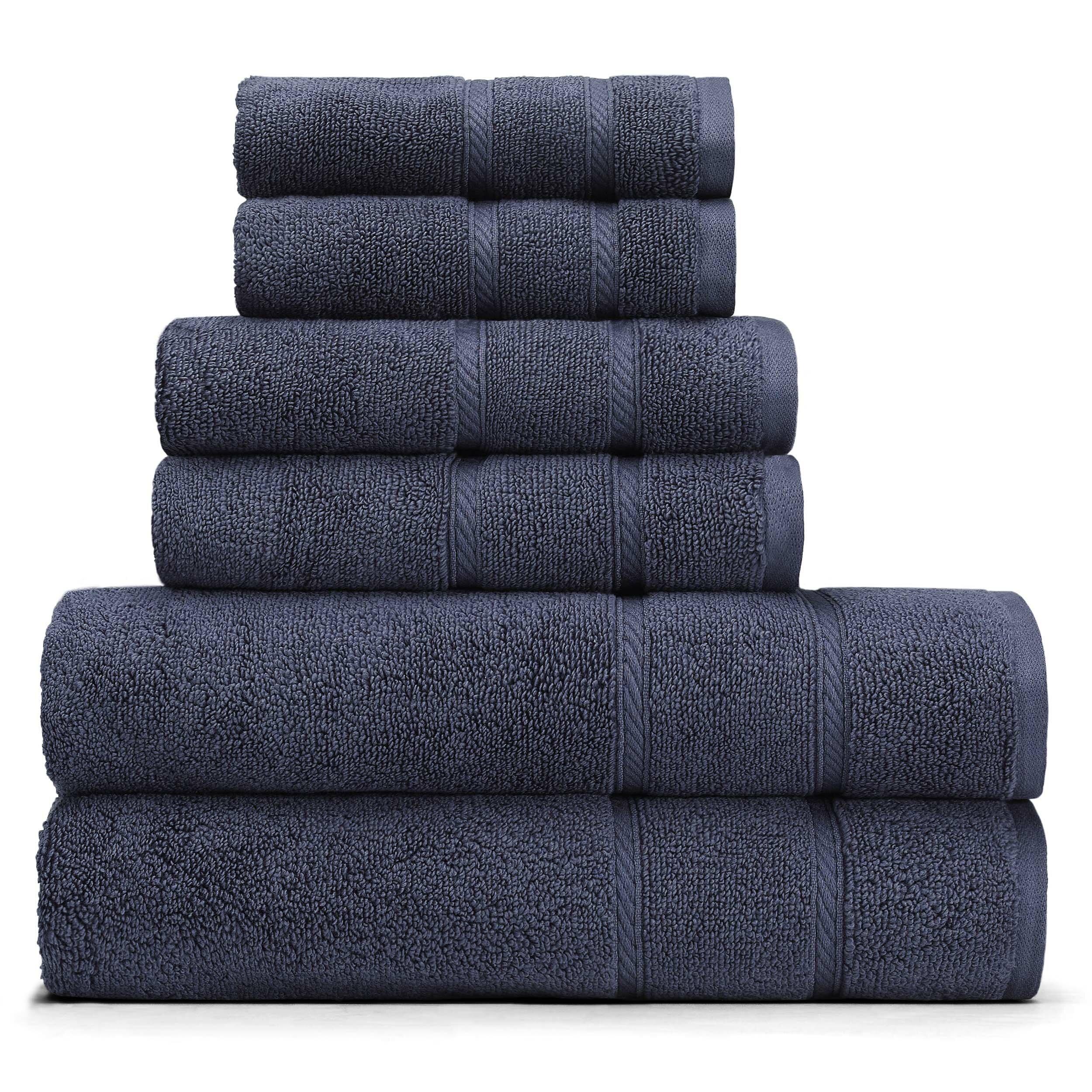 Nautica Plain Dye Towel Unisex Cotton