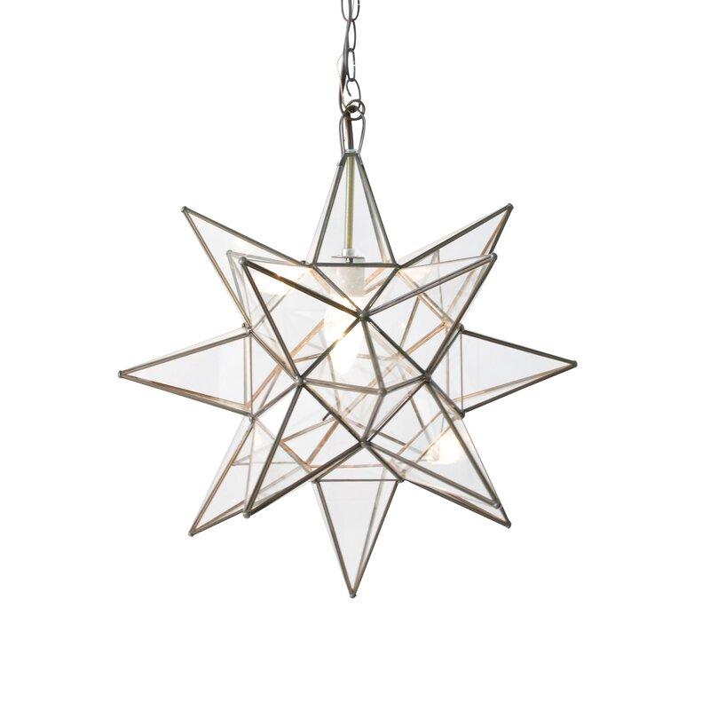 1-Light Single Star Pendant