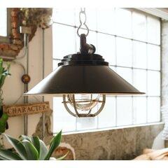 Metal White Cream Outdoor Hanging Lights You Ll Love In 2021 Wayfair
