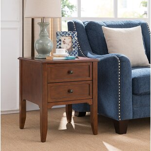 Clarkson End Table by Alcott Hill