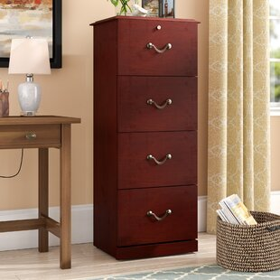 Charlton Home Dones 4 Drawer Vertical File