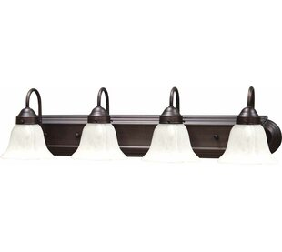 Minster 4-Light Vanity Light by Volume Lighting