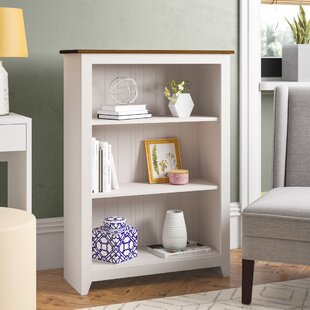 Antonia Low 110cm Bookcase By Three Posts