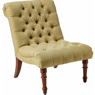 Alnwick Armless Accent Slipper Chair by Winston Porter SKU:BE474454 Details