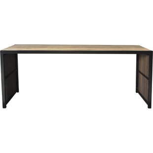 Persephone Cocoa Dining Table by 17 Stories
