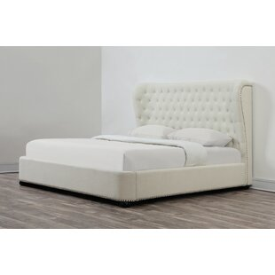 Compare prices Precita Upholstered Platform Bed by Rosdorf Park Reviews (2019) & Buyer's Guide