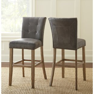 Chugwater 30 Bar Stool (Set of 2) Three Posts
