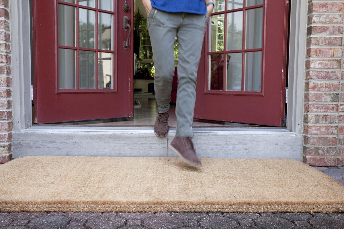 Entryways Homemade Blank Doormat & Reviews   Wayfair