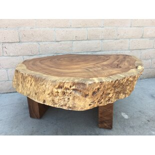 Amaro Thick Chunky Coffee Table by Foundry Select