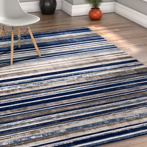 Chanell Blue Area Rug