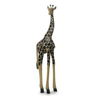 life size giraffe statue wayfair