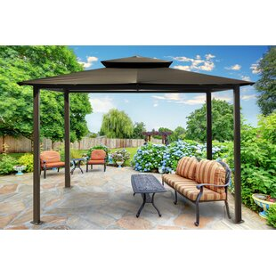 Paragon-Outdoor Carolina 10 Ft. W x 12 Ft. D Aluminum Patio Gazebo