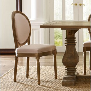 Hogansville Round Upholstered Dining Chair (Set of 2) Three Posts