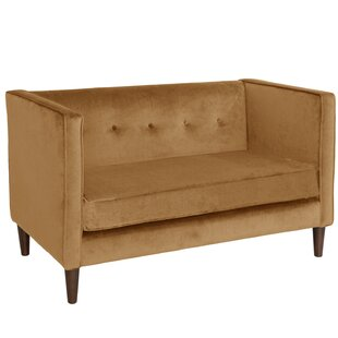 Online Reviews Diego Chesterfield Loveseat by Willa Arlo Interiors Reviews (2019) & Buyer's Guide