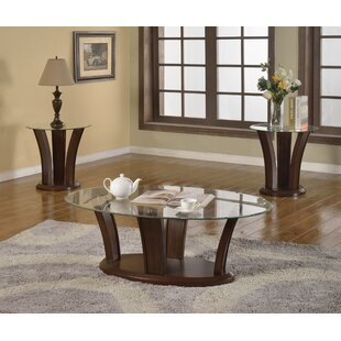 Prosperie 3 Piece Coffee Table Set Latitude Run
